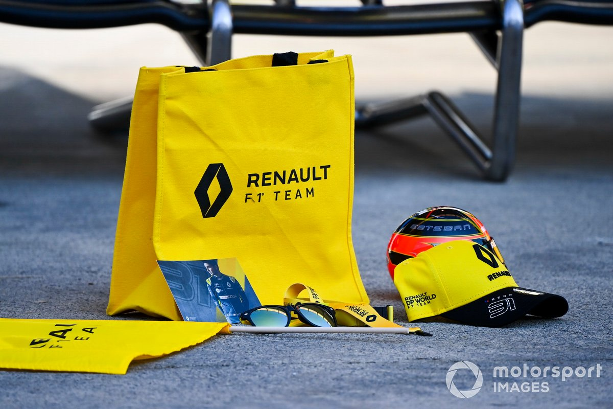 Merchandising de Renault