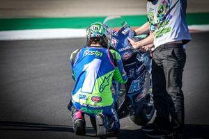 El campeón del mundo de Moto2, Enea Bastianini, Italtrans Racing Team