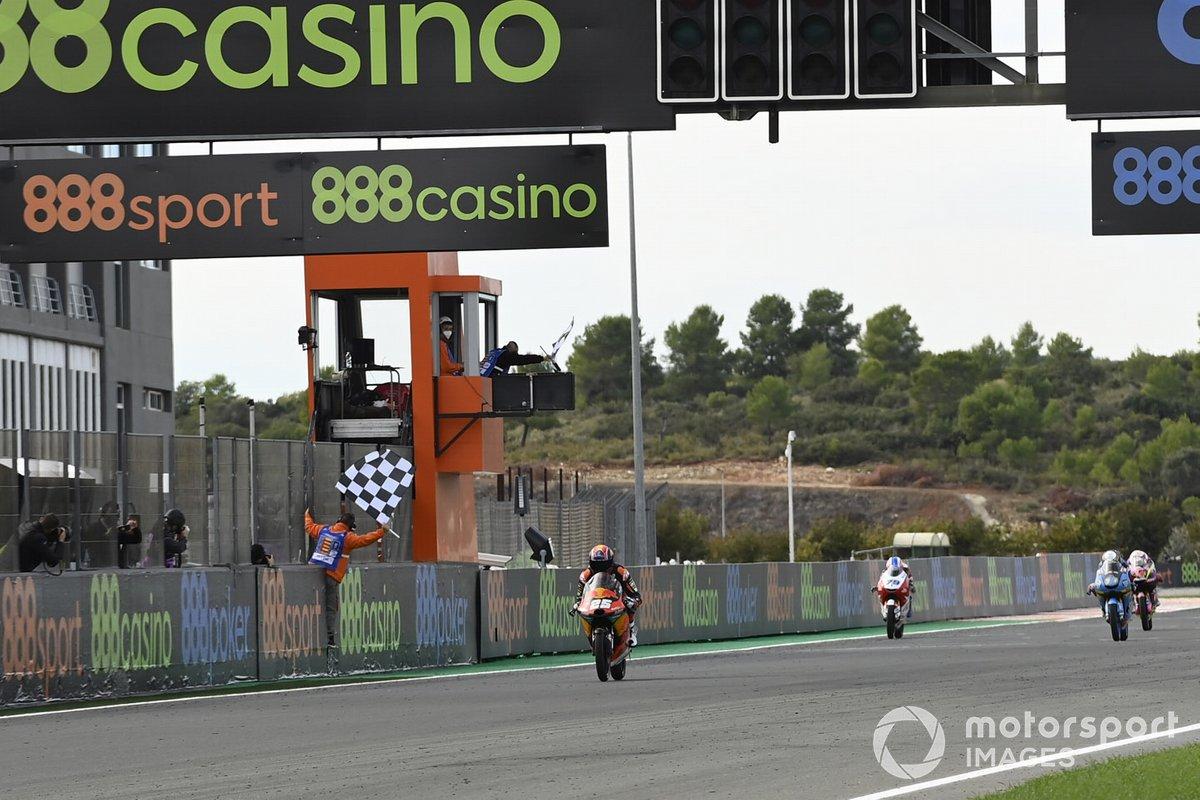 Raúl Fernández - 2 victorias con KTM