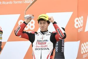 Third place Ai Ogura, Honda Team Asia