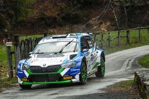 Stefano Albertini, Danilo Fappani, BS Sport, Skoda Fabia Rally2 Evo