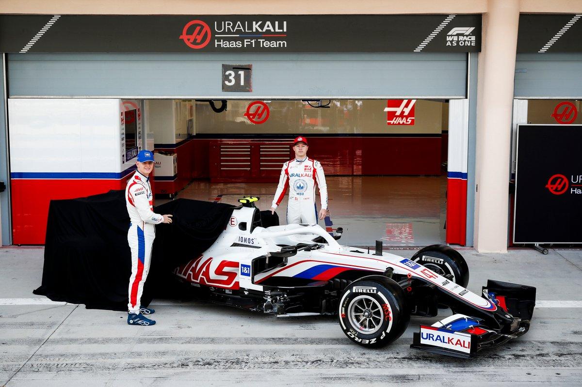 Mick Schumacher, Haas F1 y Nikita Mazepin, Haas F1