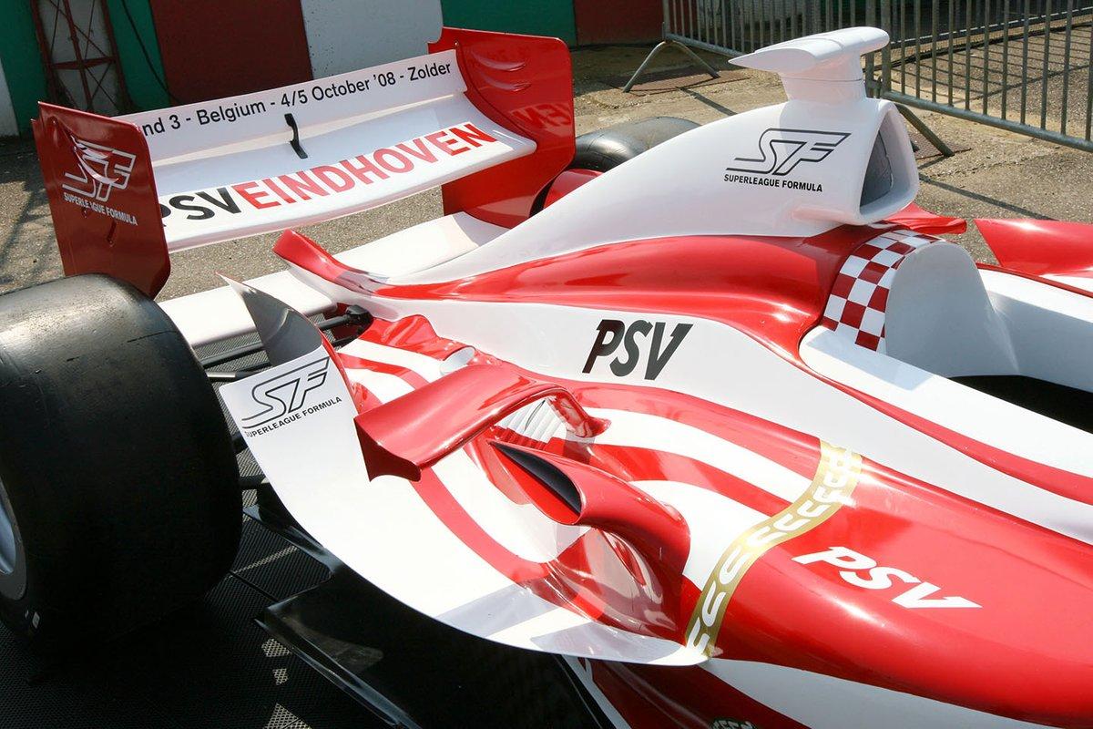 سيارة سوبر ليغ خلال حدث فورمولا بي ام دبليو الأوروبية