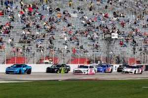 Jeb Burton, Kaulig Racing, Chevrolet Camaro, Austin Cindric, Team Penske, Ford Mustang Car Shop