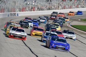 Brandon Brown, Brandonbilt Motorsports, Chevrolet Camaro Brandonbilt Foundations and Myatt Snider, Richard Childress Racing, Chevrolet Camaro TaxSlayer