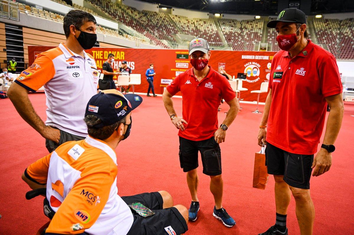Sebastien Loeb, Hunter, Bahrain Raid Xtreme, Nani Roma Nani, Hunter, Bahrain Raid Extreme, Isidre Esteve Pujol, Repsol Rally Team