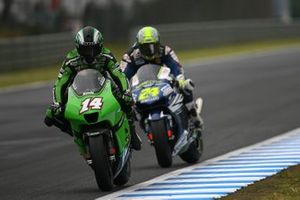 Randy De Puniet, Kawasaki, Toni Elias, Gresini-Honda