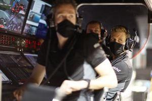 Мик Шумахер, Haas F1, на командном мостике Haas F1