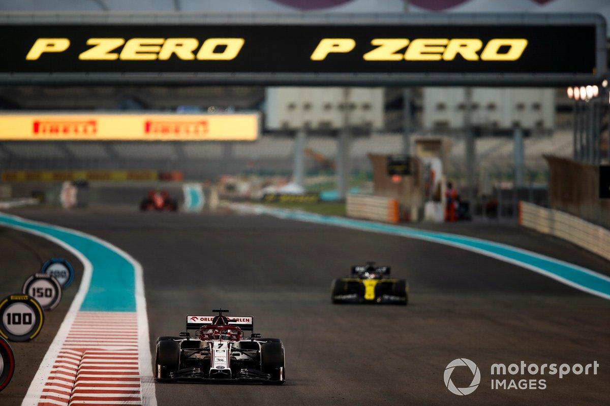 Más carreras empezadas (329): Kimi Raikkonen, Alfa Romeo Racing C39 (GP de Abu Dhabi)