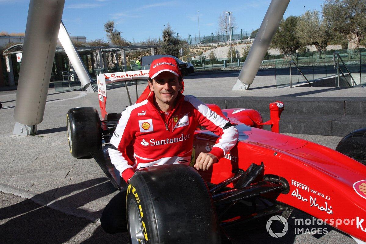 Pedro De La Rosa, probador de Ferrari