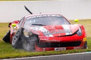 #47 Ferrari 458 GT3: Wayne Mack