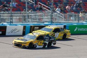 Ross Chastain, Chip Ganassi Racing, Chevrolet Camaro Chevrolet Accessories, Kyle Busch, Joe Gibbs Racing, Toyota Camry STANLEY