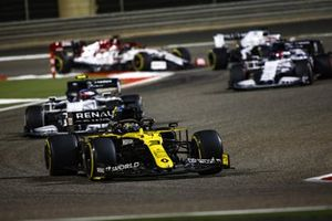 Daniel Ricciardo, Renault F1 Team R.S.20, Pierre Gasly, AlphaTauri AT01
