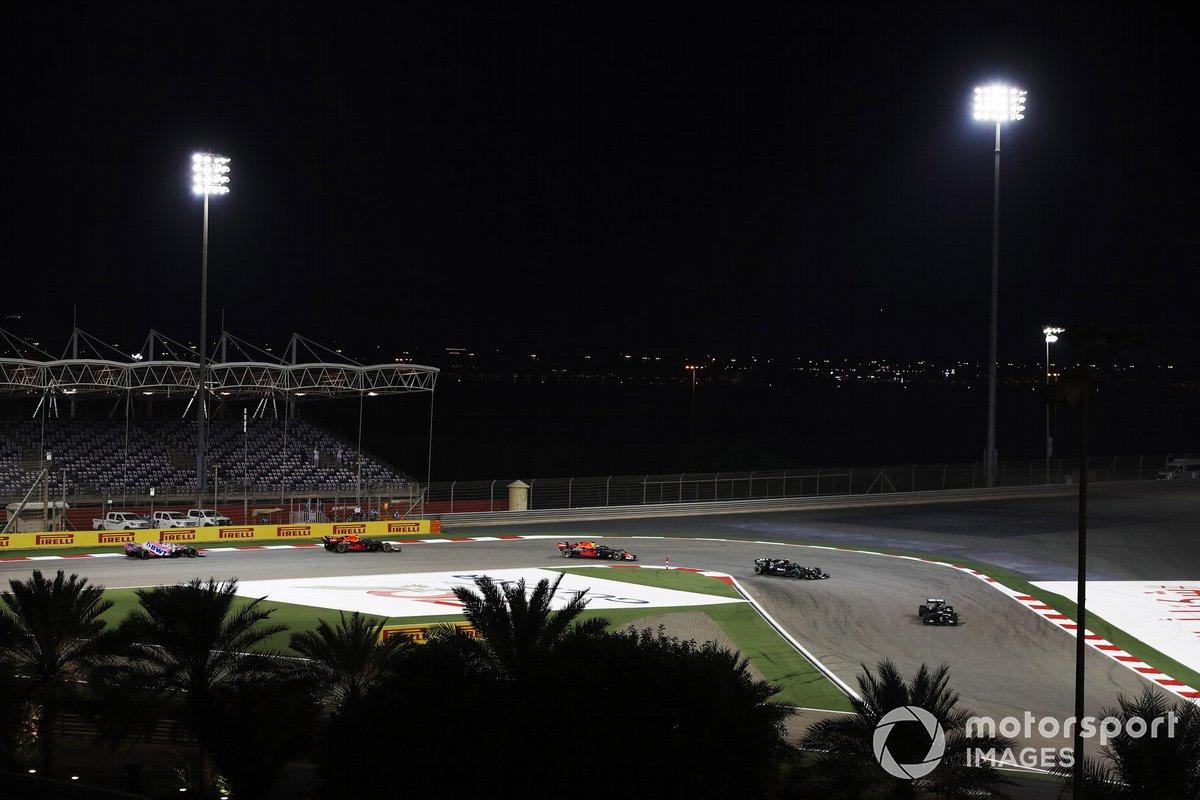 Lewis Hamilton, Mercedes F1 W11, Valtteri Bottas, Mercedes F1 W11, Max Verstappen, Red Bull Racing RB16, Alex Albon, Red Bull Racing RB16