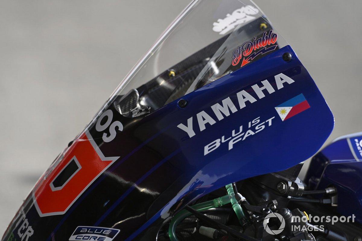 Monster Energy Yamaha bike