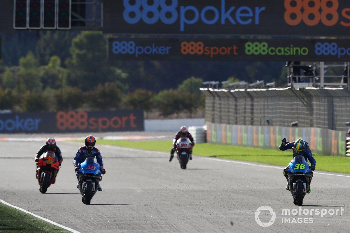 Ganador Joan Mir, Team Suzuki MotoGP