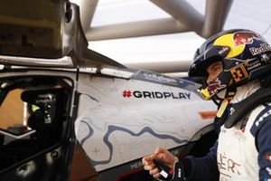 Timmy Hansen, Andretti United Extreme E, prepares in the pits