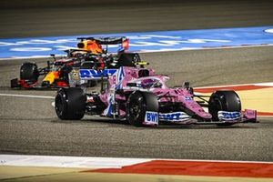 Lance Stroll, Racing Point RP20, Max Verstappen, Red Bull Racing RB16