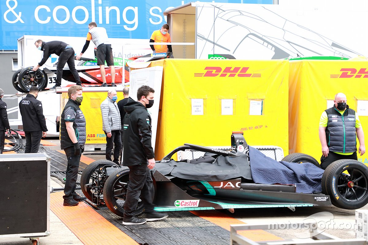 Jaguar Racing team