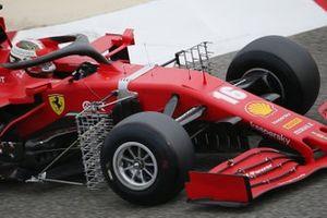 Charles Leclerc, Ferrari SF1000 avec des capteurs aérodynamique