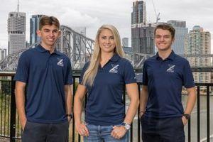 Broc Feeney, Angelo Mouzouris, Triple Eight Race Engineering, Jessica Dane, Triple Eight Race Engineering co-owner