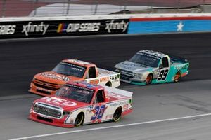 Brennan Poole, On Point Motorsports, Toyota Tundra RememberEveryoneDepoloyed.org and Ben Rhodes, ThorSport Racing, Ford F-150 Tenda