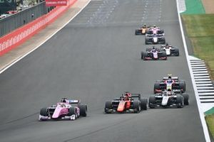 Artem Markelov, BWT HWA Racelab, Nobuharu Matsushita, MP Motorsport, Luca Ghiotto, Hitech Grand Prix and Marino Sato, Trident