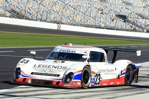 #23 United Autosports with Michael Shank Racing Ford Riley: Mark Blundell, Zak Brown, Martin Brundle