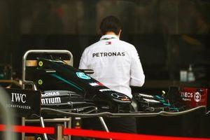 Mercedes F1 W11 nose detail