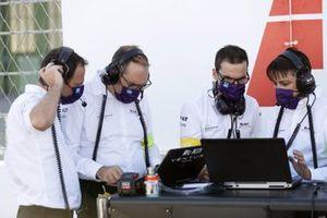 The Venturi team on the grid