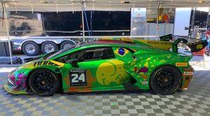 Carro de Leo Lamelas no Lamborghini Super Trofeo
