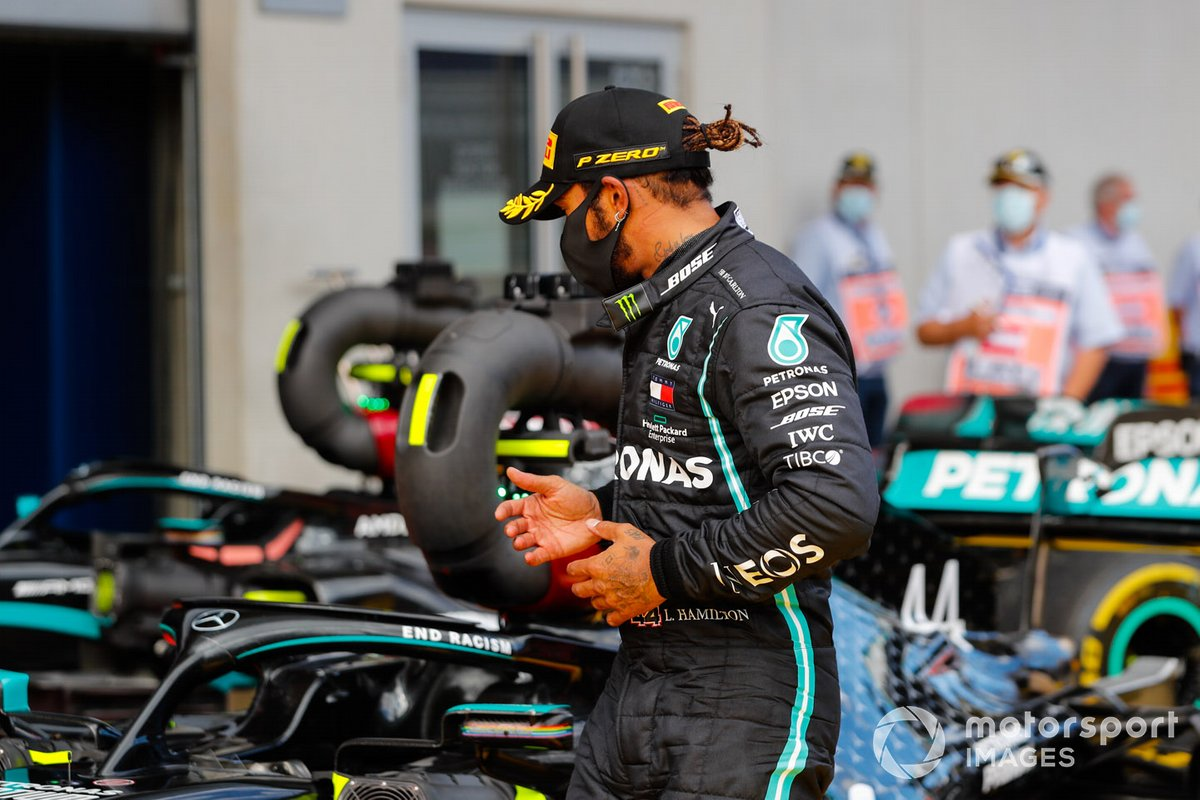 Ganador Lewis Hamilton, Mercedes-AMG Petronas F1