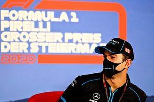 Nicholas Latifi, Williams Racing en la conferencia de prensa