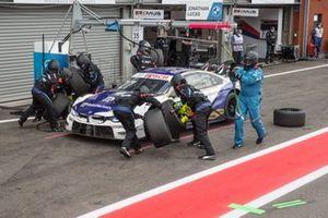 Jonathan Aberdein, BMW Team RBM, BMW M4 DTM, pitstop