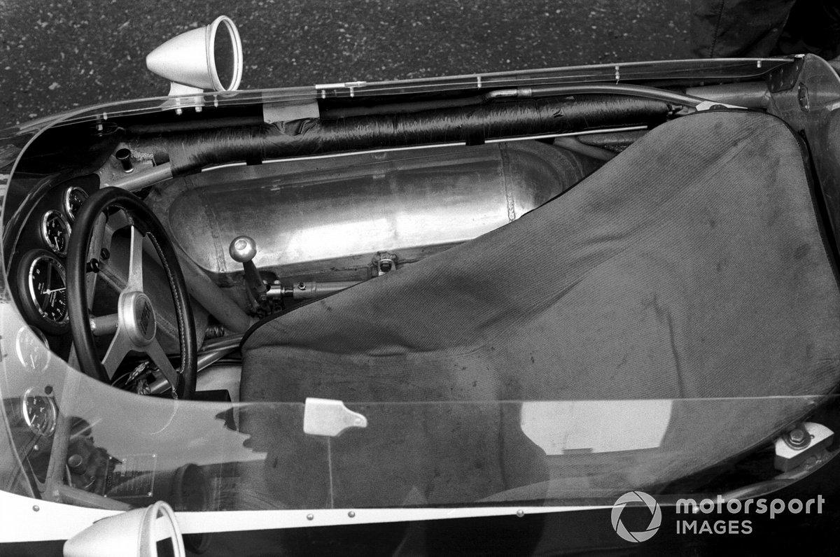 Volante del monoplaza Cooper T60 de Bruce McLaren