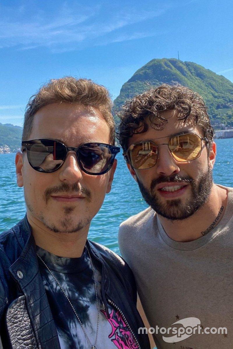 Jorge Lorenzo e Andrea Iannone