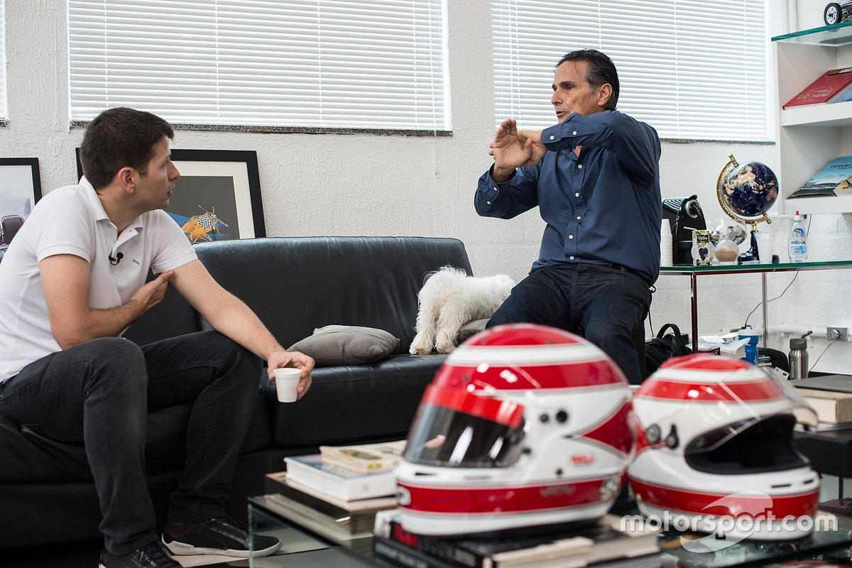 Bate-papo entre Felipe Motta e Nelson Piquet
