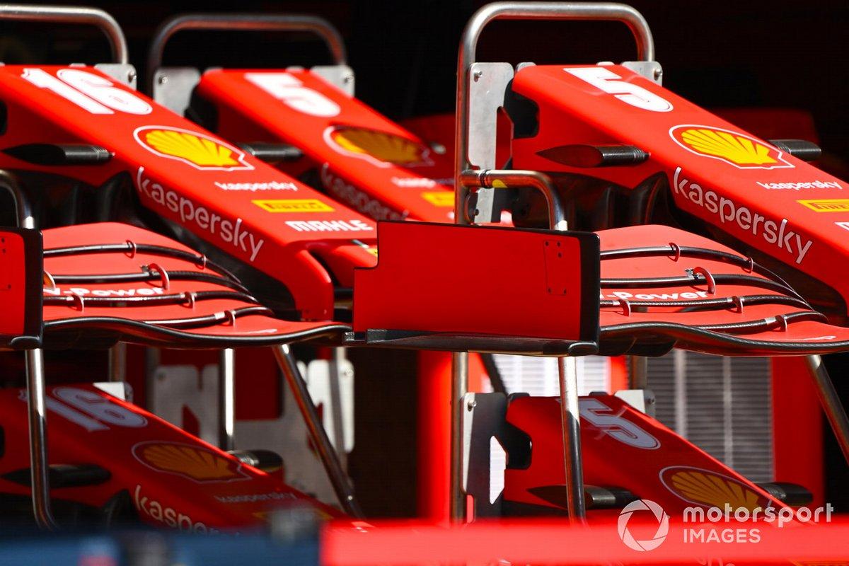 Ferrari SF1000 ala anteriore e dettaglio naso