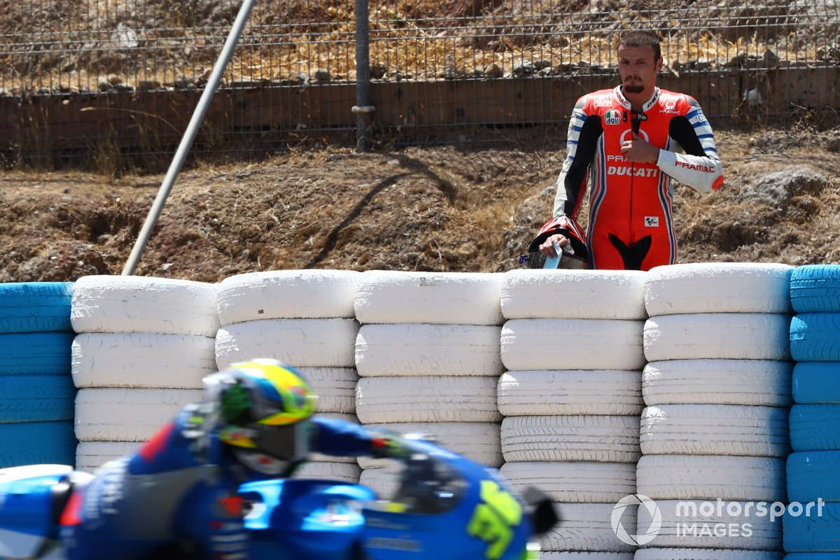 Jack Miller, Pramac Racing dopo la caduta