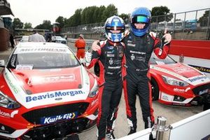Rory Butcher, Motorbase Performance Ford Focus and Ollie Jackson, Motorbase Performance Ford Focus