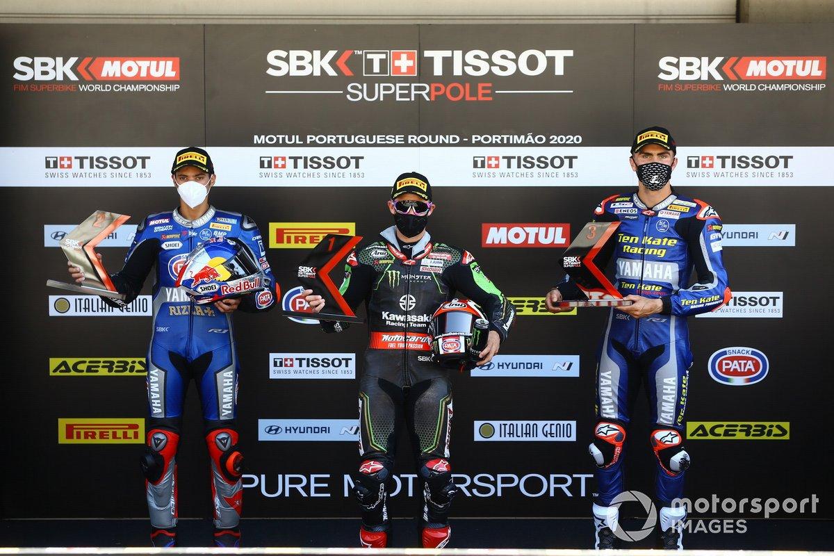Toprak Razgatlioglu, Pata Yamaha, Jonathan Rea, Kawasaki Racing Team, Loris Baz, Ten Kate Racing Yamaha