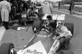 Jean-Pierre Beltoise, BRM P160B con Tony Southgate