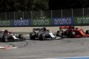 Daniil Kvyat, AlphaTauri AT01, Sebastian Vettel, Ferrari SF1000, Antonio Giovinazzi, Alfa Romeo Racing C39