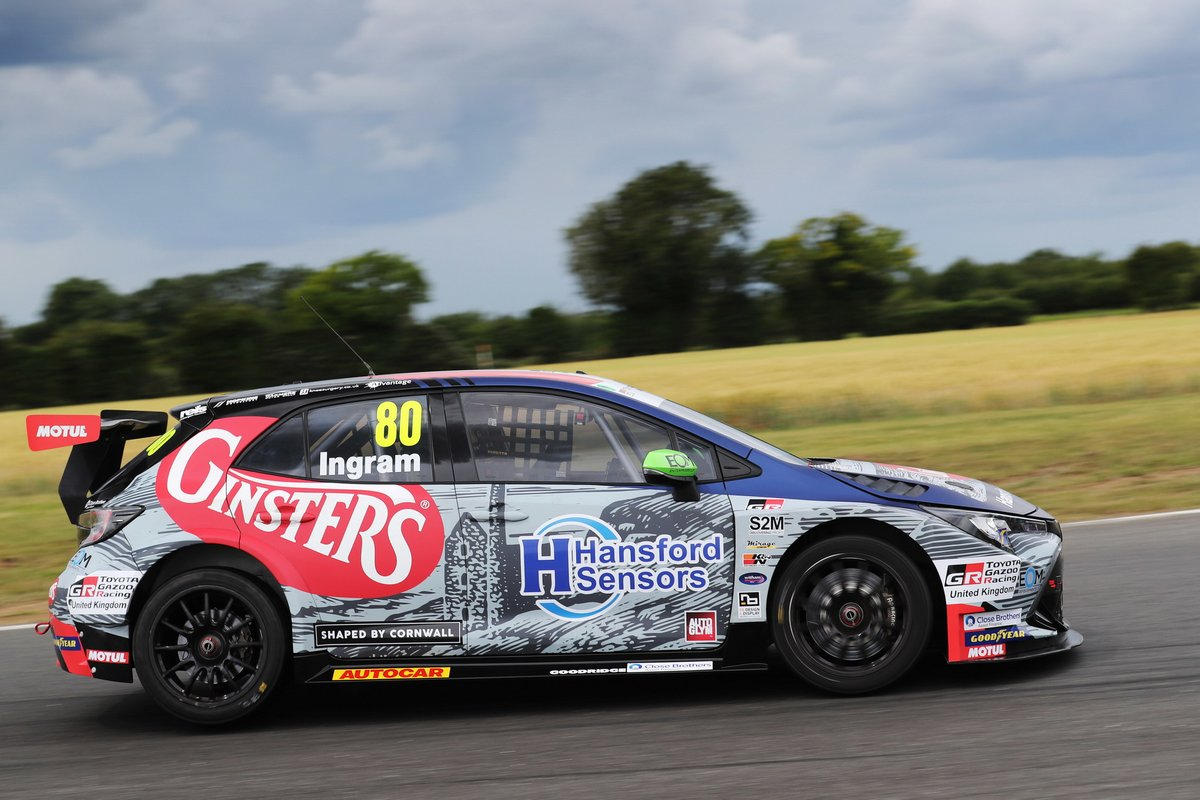 Tom Ingram, Toyota Gazoo Racing UK con Ginsters Toyota Corolla