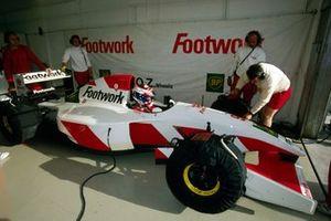 Jos Verstappen, Footwork Arrows FA14
