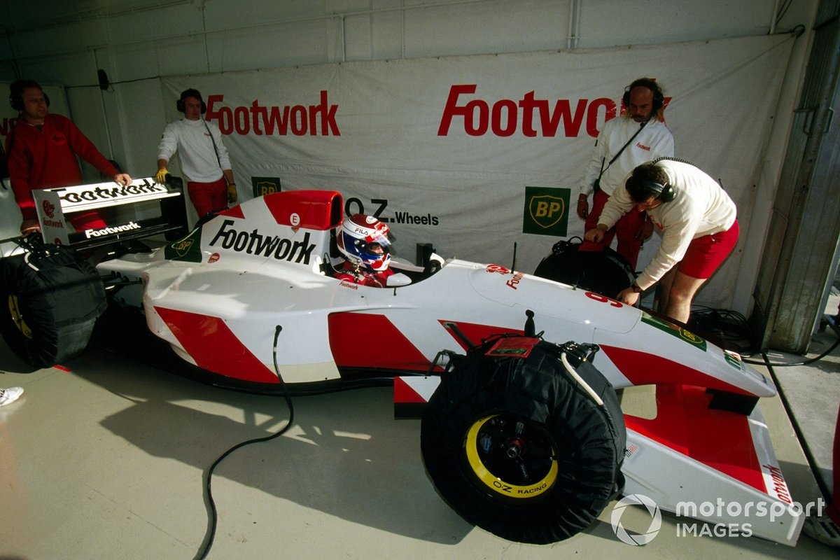 Jos Verstappen, Footwork Arrows FA14