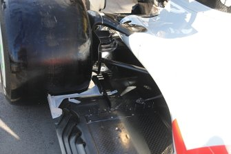 Haas F1 Team floor detail