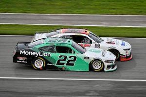 Austin Cindric, Team Penske, Ford Mustang MoneyLion, Preston Pardus, DGM Racing, Chevrolet Camaro Chinchor Electric/Danus