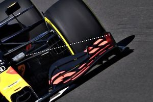 Red Bull Racing RB16 ön kanat detay