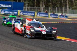 #7 TOYOTA GAZOO RACING - Toyota TS050 - Hybrid: Mike Conway, Kamui Kobayashi, Jose Maria Lopez